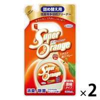 スーパーオレンジ消臭除菌泡タイプ N 詰め替え 360ml 1セット(2個) UYEKI