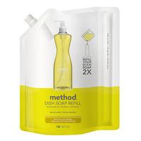 method(メソッド) 食器用洗剤 レモンミント 詰替用 1.06L 1個 ジョンソン