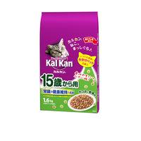 カルカン 15歳から用 かつおと野菜味 ドライ 1.6kg(小分け4袋入)1袋 キャットフード ドライ