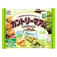 不二家 カントリーマアム(バニラ&抹茶ラテ) 1袋 クッキー ビスケット お菓子 おやつ