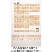 光(ヒカリ) 光 シナベニア抜文字 A SB45-A 1セット(10枚) 226-0142(直送品)