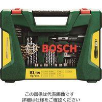 BOSCH(ボッシュ) ボッシュ アクセサリーセット91本 V91 1台 128-6007(直送品)