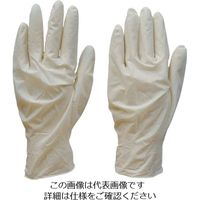 ダンロップホームプロダクツ ダンロップ 天然ゴム極うす手袋 100枚入 L 7613 1箱(100枚) 854-8746(直送品)