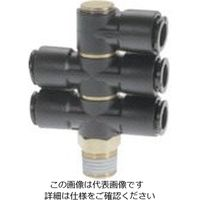 千代田通商 チヨダ フジトリプルバンジョー(樹脂) 8mm・R1/8 8R-01S1D2 1個 808-3926(直送品)