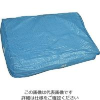 萩原工業 萩原 ブルーシート 7.2m×9.0m HBS7290 1セット(3枚) 868-4446(直送品)