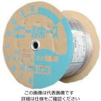 三洋化成 サンヨー 透明ホース2×4 100mドラム巻 TM-24D100T 1巻 816-3763(直送品)
