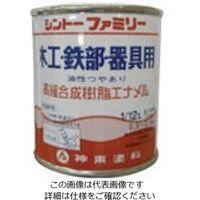 シントーファミリー シントー 高級合成樹脂エナメル 緑 1/12L 3212-0.08 1セット(12缶) 851-1923(直送品)