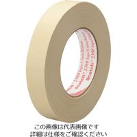 3M スコッチ クレープマスキングテープ 24mmX55m 薄黄色 2380 24X55 493-5101(直送品)