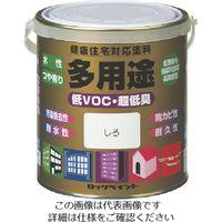 ロックペイント ロック 水性多用途 くろ 0.7L H75-7711 03 1セット(6缶) 851-2537(直送品)