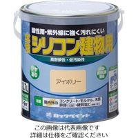 ロックペイント ロック 水性シリコン建物用 クリーム 1.6L H11-1128 6S 1セット(6缶) 851-2254(直送品)