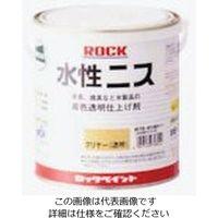 ロックペイント ロック 水性ニス ライトオーク 0.7L H75-0151-03 1セット(6缶) 851-2473(直送品)