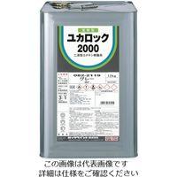 ロックペイント ロック ユカロック#2000 ディープグリーン 12KG 082-2220-01 1缶 851-1778(直送品)