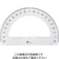シンワ測定 シンワ 分度器180°15cm半円 74918 1個 816-4190(直送品)
