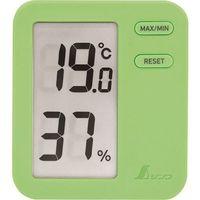 シンワ測定 シンワ デジタル温湿度計 Home A グリーン クリアパック 73049 1個 147-7632(直送品)
