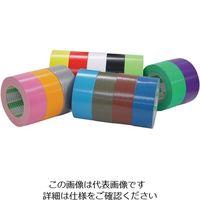 オカモト(OKAMOTO) オカモト 布テープ 100mm×25m 白 111-W-100 1セット(18巻) 808-0935(直送品)