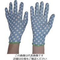 トワロン ニトリル背抜き手袋 フィットして作業しやすいガーデニング手袋 4色アソート L (12双入) 819-L 824-5962(直送品)