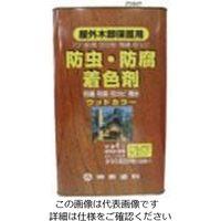 シントーファミリー シントー ウッドカラー とうめい 16L 3801-16.0 1缶 851-1989(直送品)