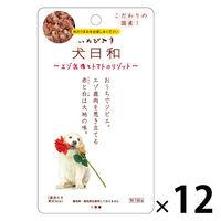 犬日和 エゾ鹿肉とトマトのリゾット 国産 60g 12袋 ドッグフード ウェット パウチ