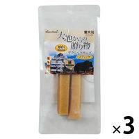 大地からの贈り物 ドッグフード ヤクミルクチーズスティック M 2本入 3袋