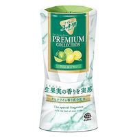 トイレ 消臭剤 芳香剤 トイレのスッキーリ! プレミアムコレクション ライム&レモン 400ml 1個 アース製薬