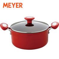 MEYER(マイヤー) イタリアンレッド2 両手鍋 20cm IH対応 MIR2-W20 1個 【送料無料】