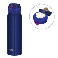 サーモス(THERMOS) 水筒 真空断熱ケータイマグ 750ml ネイビーピンク JNL-754 ワンタッチボトル