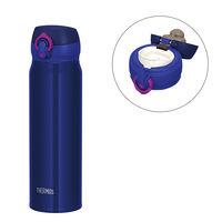 サーモス(THERMOS) 水筒 真空断熱ケータイマグ 600ml ネイビーピンク JNL-604 ワンタッチボトル