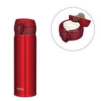 サーモス(THERMOS) 水筒 真空断熱ケータイマグ 500ml メタリックレッド JNL-504 ワンタッチボトル