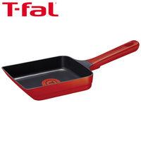 T-fal(ティファール)IHルビー・エクセレンス エッグロースター 卵焼きフライパン 14×18cm ガス火・IH対応 G60118