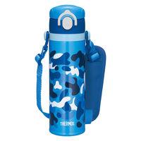 サーモス(THERMOS) 水筒 真空断熱キッズケータイマグ 500ml ブルー JOI-500 BL 1個
