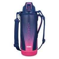 サーモス(THERMOS) 水筒 真空断熱スポーツボトル 大容量 1.5L ネイビーピンク FHT-1501F NV-P 1個 【送料無料】