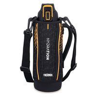 サーモス(THERMOS) 水筒 真空断熱スポーツボトル 1L ブラックオレンジ FHT-1001F BKOR 1個 【送料無料】
