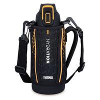 サーモス(THERMOS) 水筒 真空断熱スポーツボトル 800ml 0.8L ブラックオレンジ FHT-801F BKOR 1個 【送料無料】