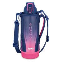サーモス(THERMOS) 水筒 真空断熱スポーツボトル 1L ネイビーピンク FHT-1001F NV-P 1個 【送料無料】