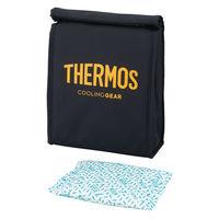 サーモス(THERMOS) スポーツ保冷バッグ アイシング スポーツ観戦 応援 ブラックオレンジ REY-003 BKOR 1個