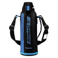 ZOJIRUSHI(象印)水筒 スポーツボトル ステンレスクールボトル 保冷 ブルーストライプ 1000ml SD-FB10-AJ