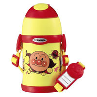 ZOJIRUSHI(象印)水筒 ステンレスクールボトル アンパンマン 450ml キャラクター ストロー ST-ZH45A-EY 子供