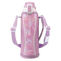 ZOJIRUSHI(象印)水筒 スポーツボトル ステンレスクールボトル 保冷 ボタニカルピンク 1000ml SD-FB10-PJ