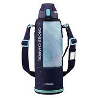 ZOJIRUSHI(象印)水筒 スポーツボトル ステンレスクールボトル 保冷 ネイビーミント 1500ml SD-FB15-AG 【送料無料】
