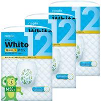 ネピア Whito(ホワイト) おむつ パンツ M 12時間タイプ 1ケース(58枚入×3パック) 王子ネピア