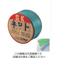 三洋化成 サンヨー SKネットホース15×20 グリーン 50mドラム巻 SN-1520D50G 1巻 816-3732(直送品)