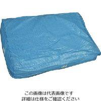 萩原工業 萩原 ブルーシート 10m×10m HBS1010 1セット(2枚) 868-4443(直送品)