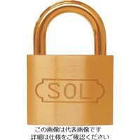 清水 SOL シリンダー錠同一No.無70mm 2500SD-70 1個 849-0151(直送品)