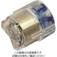 ニチフ端子工業 ニチフ クイックロック 差込形電線コネクタ(Φ2.0・2.6用) 極数3 青透明 20個入 QLXL 3 224-2737(直送品)