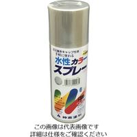 シントーファミリー シントー 水性カラースプレー 速乾シルバー 300ML 2923-0.3 1セット(12缶) 851-1898(直送品)