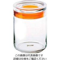 アズワン グッチーニ ガラスジャー1000cc 285516 45オレンジ 1個 61-6542-07(直送品)