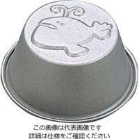 富士ホーロー テフロンセレクト ゼリーカップケーキ型 クジラ 1個 61-6691-78(直送品)