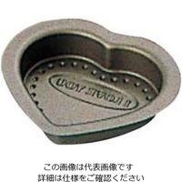 富士ホーロー テフロンセレクト チョコレート ハート型 小 1個 61-6700-54(直送品)