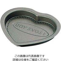 富士ホーロー テフロンセレクト チョコレート ハート型 大 1個 61-6700-52(直送品)