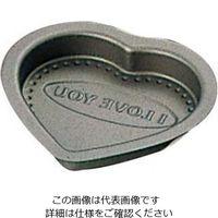 富士ホーロー テフロンセレクト チョコレート ハート型 中 1個 61-6700-53(直送品)